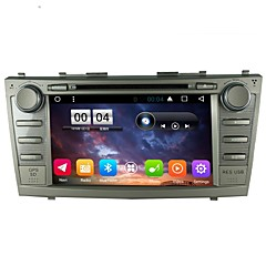 2 Din Capacitive touch LCD Car DVD Player android 6.0 For Toyota camry 2007-2011