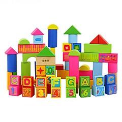 Bausteine Bildungsspielsachen Spielzeuge Rechteckig Heimwerken Jungen Mädchen 66 Stücke