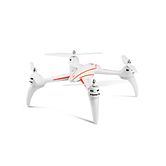 billiga Drönare och radiostyrda enheter-RC Drönare WL Toys Q696 4 Kanaler 2.4G Radiostyrd quadcopter LED Lampor / Huvudlös-läge / 360-Graders Flygning Radiostyrd Quadcopter /