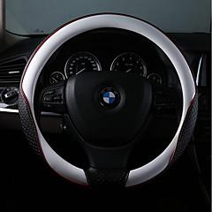 billige Rattovertrekk til bilen-Rattovertrekk til bilen Lær 38 cm Rød / Rosa / Blå Til BMW Alle Modeller Alle år