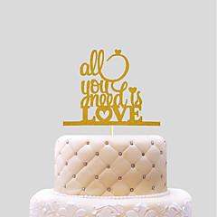 cake topper bruiloft harten papier bruiloft met pvc tas bruiloft receptie