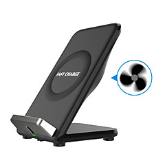 F18 Fast Wireless Charger Fast Charge Qi Standard for Samsung Galaxy S8 S8 S7 edge S7 S6 Note5 and iPhone Charging Dock Optional