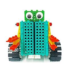 preiswerte -Roboter Bausteine Spielzeuge Roboter Einfache Fernbedienungskontrolle Bildung Elektrisch Heimwerken Weicher Kunststoff Kinder Geschenk