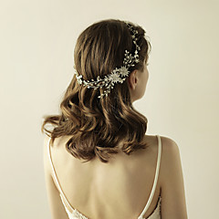 rhinestone liga tiaras headbands flores headpiece estilo elegante