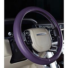 billige Rattovertrekk til bilen-Rattovertrekk til bilen ekte lær 38 cm Lilla / kaffe / Svart / Rød For Mitsubishi Outlander / Pajero / Alle Modeller Alle år