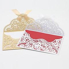 Tasainen kortti Hääkutsut-Kutsukortit Kiitoskortit Kutsunäyte Äitienpäiväkortit Baby Shower -kutsut Kihlajaiskutsut Kutsusetit