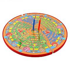 체스 게임 미로&순차 이동 퍼즐 루반 락 자기 미로 스트레스 해소 제품 교육용 장난감 장난감 라운드 직사각형 남여 공용 1 조각