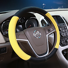 billige Rattovertrekk til bilen-Rattovertrekk til bilen Lær 38 cm Rosa / Lilla / Gul For Buick Excelle / Excelle 15N / Excelle 18T Alle år