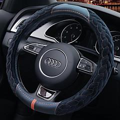 billige Rattovertrekk til bilen-Rattovertrekk til bilen Plysj 38 cm Blå Brun Rød GrønnforUniversell Alle år