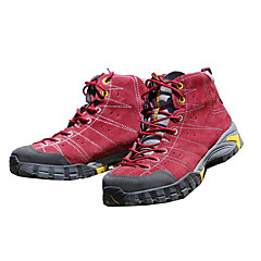 Chaussures de Course Chaussures de montagne Femme Antidérapant Etanche Vestimentaire Respirabilité Sport de détente Daim Latex Caoutchouc