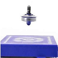 tanie Zabawki magnetyczne-Zabawki magnetyczne Bączek Lewitująca zabawka 1pcs Magnetyczna lewitacja Magnetyczne Obrót 360 ° Okrągły Dla chłopców Zabawki Dla