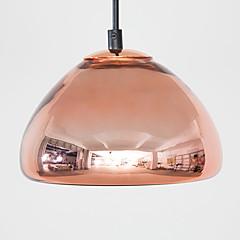 billiga Heminredning-Skål Hängande lampor Glödande Elektropläterad Metall Glas Matt, Glödlampa inkluderad, Justerbar Längd 110-120V / 220-240V Glödlampa inkluderad / G4
