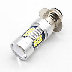 2x h6m p15d 3030 21-smd led lamppu drl tfl ajovalojen sumuvalon lähivalo lamppu valkoinen