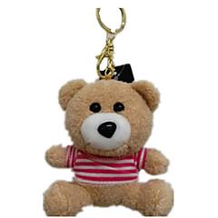 키 체인 장난감 곰 동물 남여 공용 조각