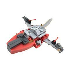 אבני בניין מטוס צעצועים כלי טיס 1 חתיכות