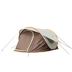 billige Telt og ly-3-4 personer Telt med flere rom Lytelt Telt Skjermtelt Enkelt camping Tent Ett Rom Automatisk Telt UV-bestandig til Fisking Camping /