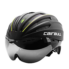 cheap Bike Helmets-CAIRBULL Bike Helmet 28 Vents CE EN 1077 Cycling Full-Face Visor PC EPS Road Cycling