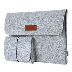 dodocool 12インチラップトップは、12のMacbook / 11のMacBookの空気のためのマウスの袋を持つスリーブの封筒カバーultrabookキャリングケースのノートブック保護袋を感じた