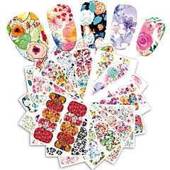 25 Nail Art Sticker  Pattern Accessories Grooming Art Deco/Retro Water Transfer Sticker Water Transfer Decals Cartoon 3-D Sticker DIY