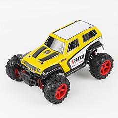 billige Fjernstyrte biler-Radiostyrt Bil FQ777 FQ777-9014 2.4G Jeep 4WD Høyhastighet Driftbil Racerbil Off Road Car Buggy (Off- Road) 1:24 Børste Elektrisk 40 KM /