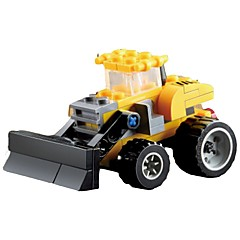 ブロックおもちゃ ブルドーザー おもちゃ 掘削機械 1 小品