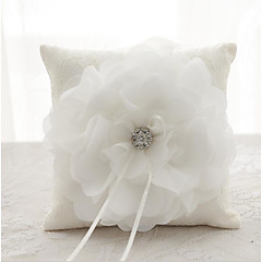 Laces Satin Silk Ring Pillows Wedding Ceremony Wedding Classic Theme