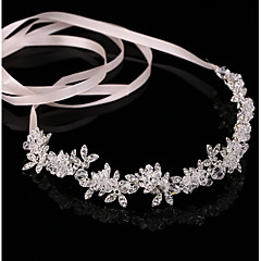 cheap Party Headpieces-Crystal Alloy Headbands Head Chain 1 Wedding Party / Evening Headpiece