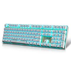billiga Keyboards-AJAZZ AK33I Kabel monochromatic bakgrundsbelysning röda Switches Brown Switches 108 mekanisk Tangentbord bakgrundsbelyst