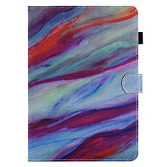 billige Nettbrettetuier&Skjermbeskyttere-Etui Til Apple iPad Mini 4 iPad Mini 3/2/1 iPad 4/3/2 iPad Air 2 iPad Air iPad (2017) Kortholder med stativ Flipp Magnetisk Mønster