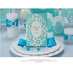 cheap Wedding Invitations-Folded Wedding Invitations Invitation Cards Engagement Party Cards Artistic Style Modern Style Embossed Paper