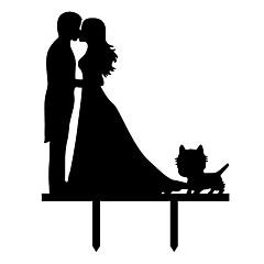 Kakepynt Strand Tema Hage Tema Sommerfugl Tema Klassisk Tema Eventyr Tema Bryllup Bohem Tema Vintage Theme rustikk Theme Klassisk Par