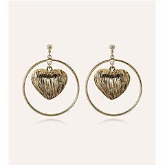 cheap Earrings-Women's Drop Earrings Metallic Cool Alloy Jewelry Prom Date Costume Jewelry