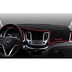 Autoproducten Dashboard Mat Auto-cabinematten Voor Hyundai 2015 2016 2017 Nieuwe Tucson Carbonvezel