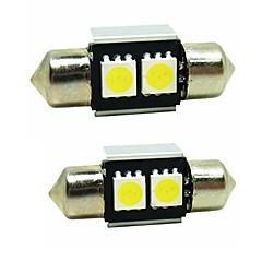 billige Interiørlamper til bil-SENCART 2pcs Huawei Ascend P9 Elpærer 0.5W SMD 5050 2 interiør Lights / utvendig Lights / Enkel å installere For General motors Alle år