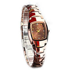 Kadın's Saat Kutuları Gündelik Saatler Moda Saat Elbise Saat Bilezik Saat Bilek Saati Benzersiz Yaratıcı İzle Sahte Elmas Saat Japonca