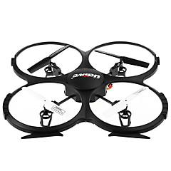 billige Fjernstyrte quadcoptere og multirotorer-RC Drone UDI R/C U819A 4 Kanal 2.4G Med HD-kamera 5.0MP Fjernstyrt quadkopter Fremover bakover Flyvning Med 360 Graders Flipp Med kamera