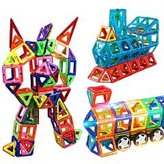צעצועים מגנטיים אבני בניין מגדיר בניין מגדיר צעצוע חינוכי צעצועים Geometric Shape סוג מגנטי מגנטי נערים בנות 250 חתיכות