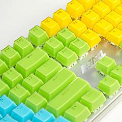 aj kristall mechanische tastatur schlüsselkappe 104 all-key zweifarbige transparente farbe schlüsselhut polychromatic optional