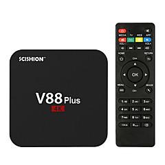 V88 PLUS Android5.1 TV-boks RK3229 RAM ROM Kvadro-Kjerne