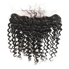 preiswerte Haarverlängerungen in natürlichen Farben-Brasilianisches Haar Wogende Wellen Remi-Haar Menschenhaar spinnt Menschliches Haar Webarten Natürlich Schwarz
