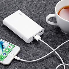 baratos Baterias Externas-waza 10000 mah para banco de potência bateria externa 5 v para 2.4 a para carregador de bateria proteção de restauração / proteção contra descarga excessiva / proteção contra sobrecarga led