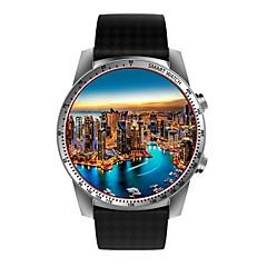 tanie Inteligentne zegarki-Inteligentny zegarek na Android 5.1 Kamera / aparat / Krokomierze / Kontrola APP Pulsometr / Stoper / Krokomierz / Rejestrator aktywności fizycznej / Budzik / WCDMA (850/2100MHz) / 512 MB