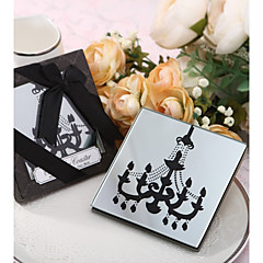 Glass Victoria Style Coaster Favors-1 Piece/Set Romance