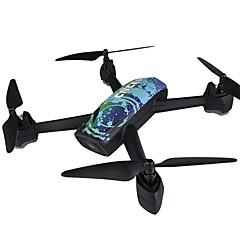 billige Fjernstyrte quadcoptere og multirotorer-RC Drone JXD 518 4 Kanal 6 Akse 2.4G Med HD-kamera 2.0MP Fjernstyrt quadkopter En Tast For Retur / Auto-Takeoff / Flyvning Med 360