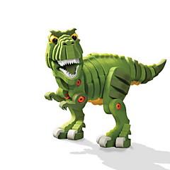 אבני בניין צעצועים טירנוזאורוס רקס בעלי חיים עשה זאת בעצמך נערים חתיכות