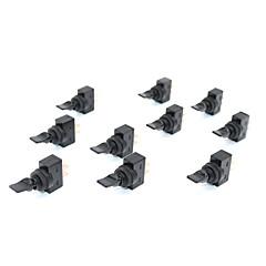 levne Auto díly-10ks černý přepínač 12vdc 20a zapínací a vypínací 12mm montážní závit