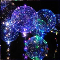 economico Giocattoli innovativi e scherzi-Illuminazione LED Palloncino LED Giocattoli Vacanza Compleanno Fosforescente Nuovo design Per bambini Per adulto 1pcs Pezzi