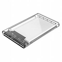 orico 2139u3 2,5 polegadas usb 3,0 microb recinto de disco rígido - usb 3,0 microb transparente