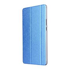 billige Nettbrettetuier-Etui Til Huawei Heldekkende etui Tablet Cases Ensfarget Hard PU Leather til