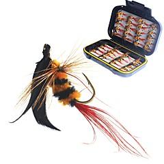 billige Fiskekroker-40 Tynn Hengespiker Søfisking Fluefisking Agn Kasting Isfikeri Annen Generelt fisking Lokke Fiske Bass Fiske Markekroker Karbonstål Fjær